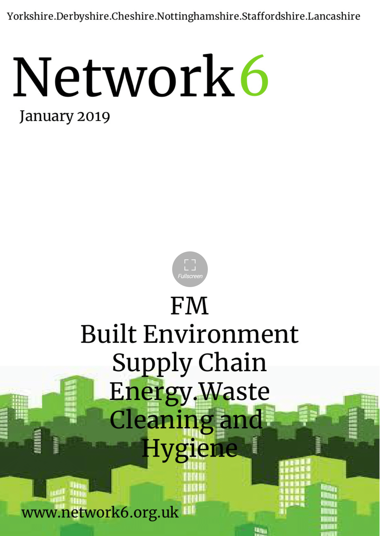 January Network6 Front cover .