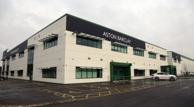 Aston Barclay opening at Wakefield, West Yorkshire, February 1, 2019.