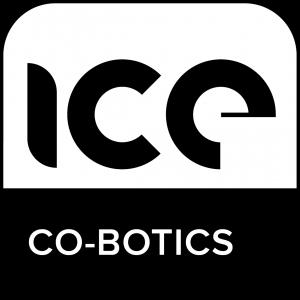 ICE Co-Botics logo Black & White V2